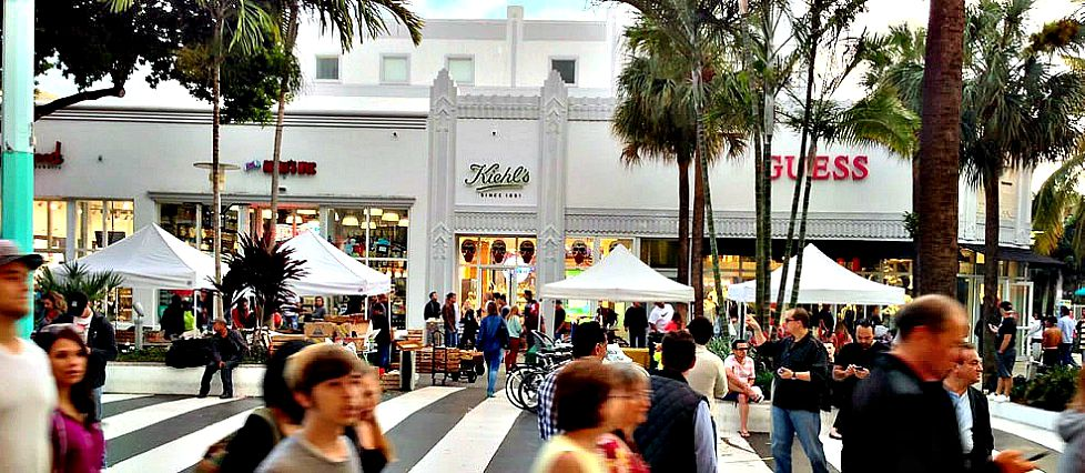 Bustling and diverse Lincoln Road