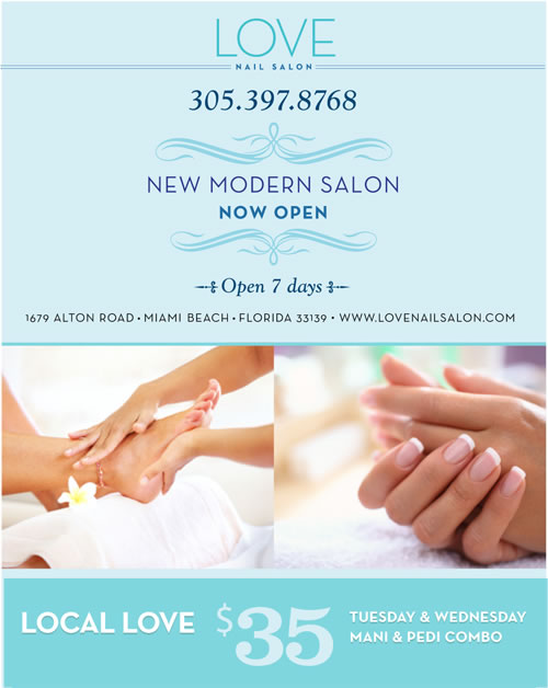 Manicure Pedicure Get Pampered At Love Nail Salon You Re Worth It Lincoln Road Mall