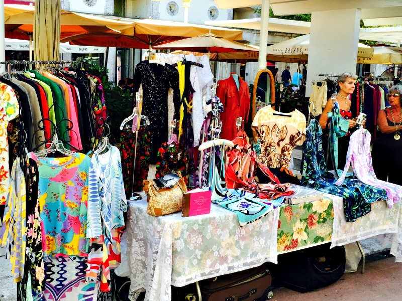 Antique Market Lincoln Road