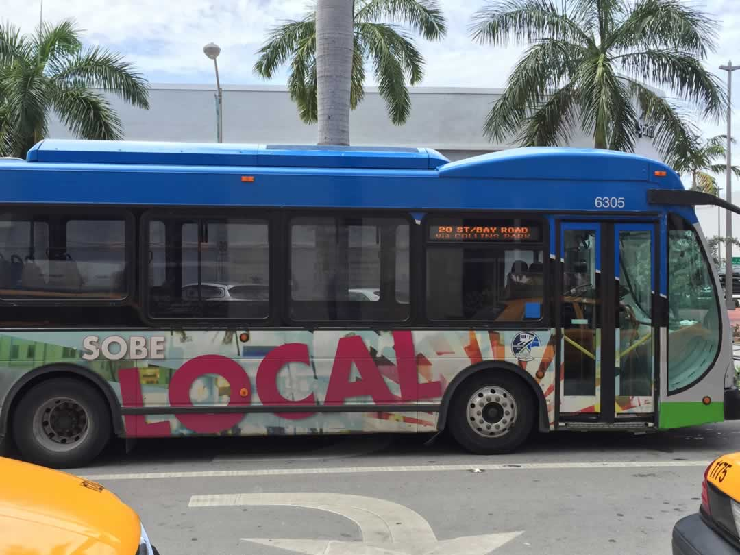 South Beach Local Bus Stops
